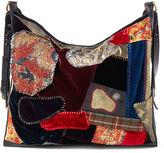 Ralph Lauren Patchwork Velvet Mailbag