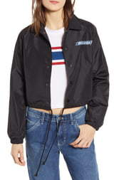 Dickies Logo Crop Windbreaker Jacket