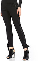 GUESS Luxor Lace-Up Leggings