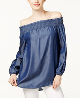 MICHAEL Michael Kors Off-The-Shoulder Top, A Macy's Exclusive Style