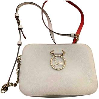 Christian Louboutin Rubylou White Leather Handbags