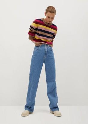 MANGO Multi-coloured knit sweater
