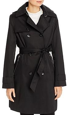 Calvin Klein Mid-Length Trench Coat