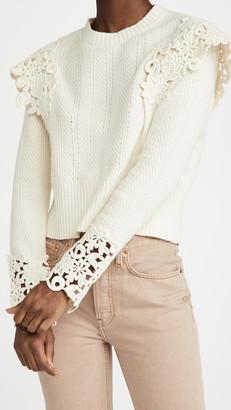 Sea Long Sleeve Knit Sweater