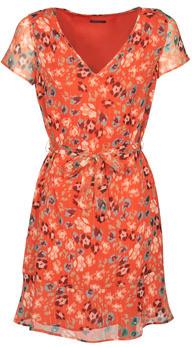 Ikks BQ30275-37 women's Dress in Orange