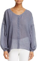 French Connection Betsey Peasant Top