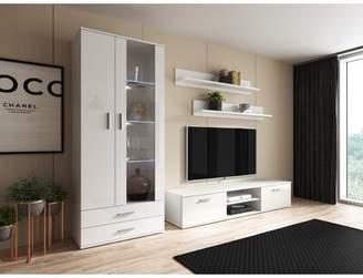 Orren Ellis Sabala Entertainment Center for TVs up to 75 inches Orren Ellis Color: Oak
