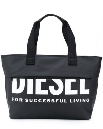 Diesel Logo Top-Handle Tote