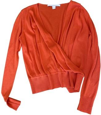 Diane von Furstenberg Orange Cotton Knitwear