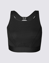 M&S Collection Extra High Impact High Neck Sports Bra A-G