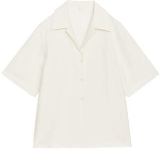Arket Relaxed Short-Sleeved Blouse