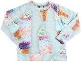Molo Ice Cream Printed Cotton Sweatshirt