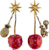 Gucci Cherry pendant earrings