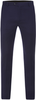 Oxford Marlowe Wool Suit Trousers Blue X