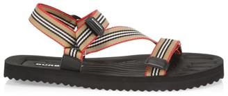 Burberry Patterson Icon Stripe Sport Sandals