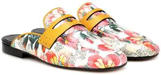 Isabel Marant Finza floral mules