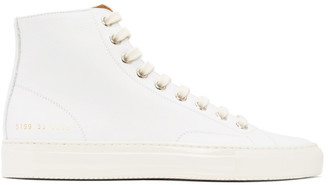 Common Projects White Tournament High Sneakers