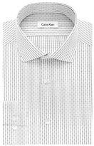 Calvin Klein Slim Fit Broken Check Dress Shirt