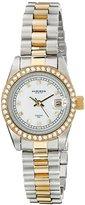 Akribos XXIV Women's AK489TTG Two-Tone Stainless Steel Watch
