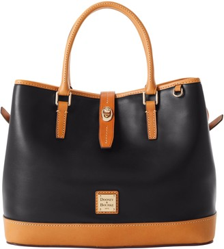 Dooney & Bourke Wexford Leather Perry Satchel