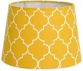 Flocked Linen Lamp Shade Collection