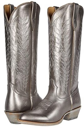 Ariat Legacy Two Step (Silver Metallic) Cowboy Boots