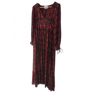 Antik Batik Red Dress for Women