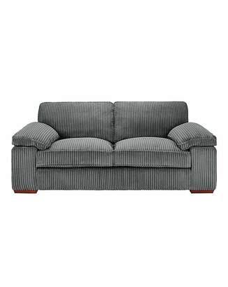 At Home Collection Mirah Jumbo Cord 3 Seater Sofa