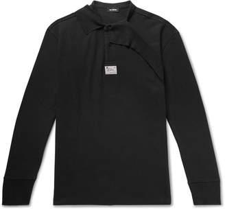 Raf Simons Oversized Layered Cotton-Pique Polo Shirt