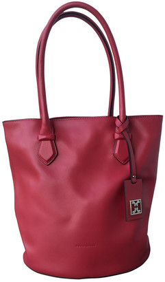 Coccinelle Pink Leather Handbags