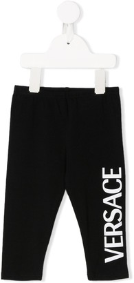 Versace Side Logo Leggings