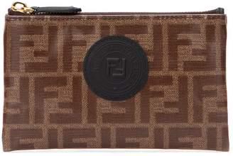 Fendi FF Logo Zipped Pouch