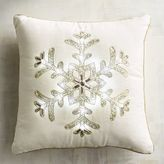 Pier 1 Imports Light-Up Snowflake Pillow
