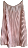 Chloé Pink Cotton Skirt