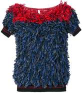 Miahatami textured knitted top