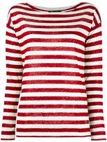 Loro Piana striped jumper - women - Linen/Flax - 42