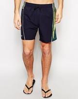 Speedo Printed Splice 16 Inch Swim Shorts