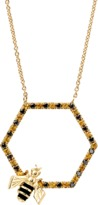 Alison Lou Bee In The Trap Necklace