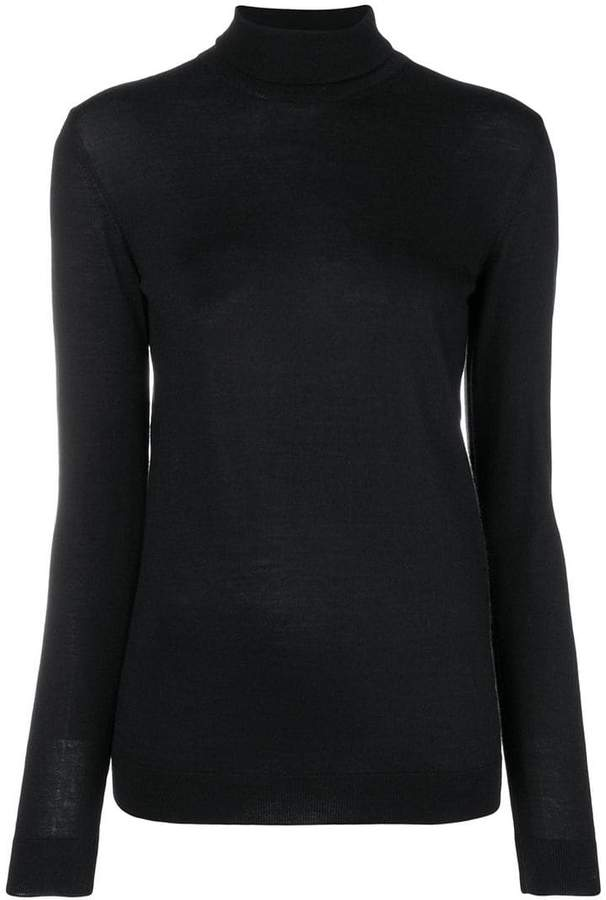 Lanvin turtle neck knitted sweater
