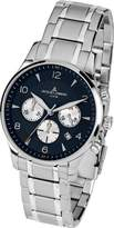 Jacques Lemans London 1-1654K 40mm Stainless Steel Case Mineral Men's Watch