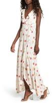 Privacy Please Women's Fillmore Wrap Maxi Dress