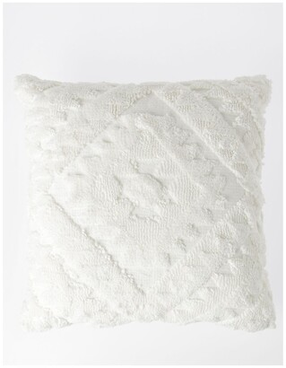 Vue Amera Tufted Cushion in Off-White