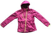 Colmar Pink Leather Jacket for Women