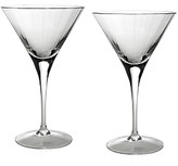 William Yeoward Crystal American Bar Corinne Martini Glasses, Set of 2