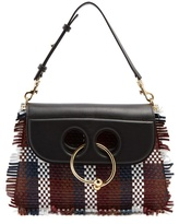 J.W.Anderson Pierce medium woven-leather shoulder bag