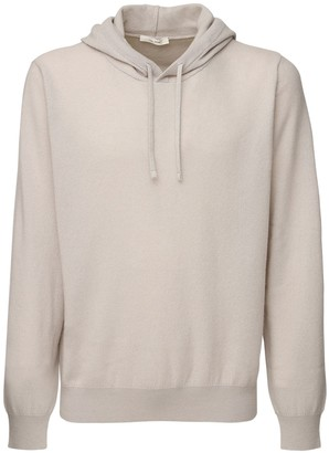 The Row Chris Hooded Cashmere Knit Sweater