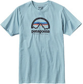 Patagonia Men's Arched Logo Cotton/Poly T-Shirt