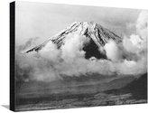 Art.com Berg Fuji in Japan, 1930er Jahre Stretched Canvas Print By Scherl - 61x81 cm