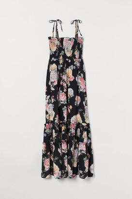 H&M Smocked Maxi Dress