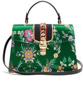 Gucci Sylvie floral-jacquard shoulder bag